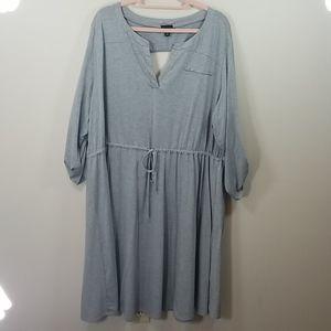 Torrid Gray Soft Dress Plus 4 4X
